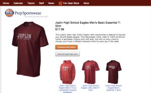 Example Prep Sportswear Team Store